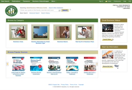 Small Business Resource Center screenshot